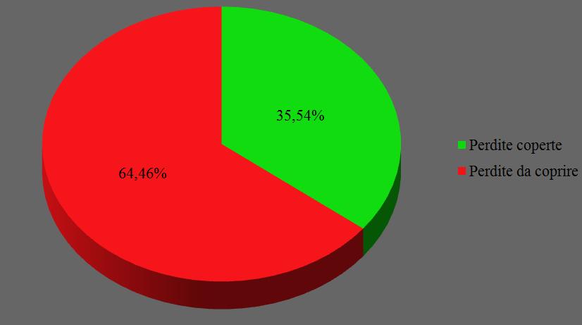 Copertura perdite bilancio 2013-14 e 2014-15