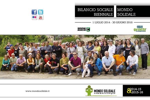 Bilancio Sociale biennale 2014-2015 e 2015-2016